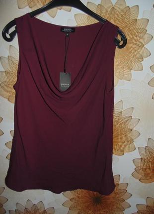 Блуза с каскадом на декольте