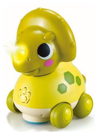 Детская игрушка каталка музыкальная для малышей Hola Toys Триц...
