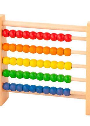 """Развивающая игрушка Viga Toys """"Счеты"""" (54224)"""