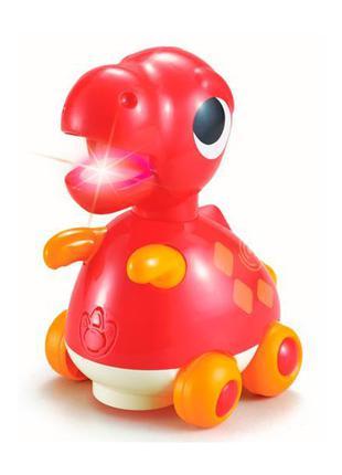 Детская игрушка каталка музыкальная для малышей Hola Toys Тира...