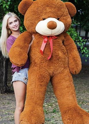 Медведь плюшевый большой 2,1 м., плюшевый медведь, мягкие игру...