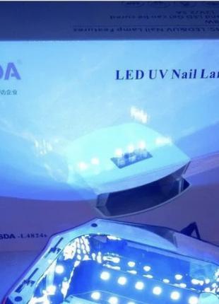 Лампа UV LED JSDA для маникюра 48W