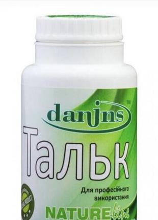 Danins тальк микрокристаллический 80г, тальк для депиляции Danins