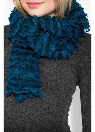 Кружевной шарф рюшами вивьен