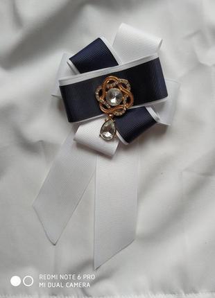 Брошь - галстук