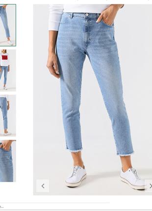 Укороченый джинсы
