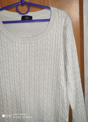 Пуловер кофточка легкий свитерок