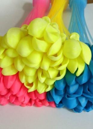 Набор шариков водяные бомбочки разноцветные
