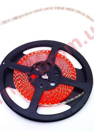 Светодиодная лента SMD 3528 (60 Led/метр) 12 вольт, цвет красн...