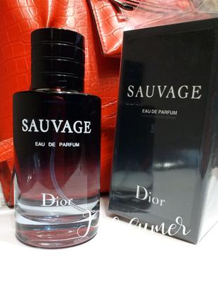 Dior Sauvage Саваж мужской парфюм, парфюмированная туалетная вода