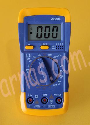 Мультиметр (тестер) A830L цифровой ОРИГИНАЛ