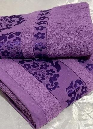 Полотенце для лица махровое - сакура