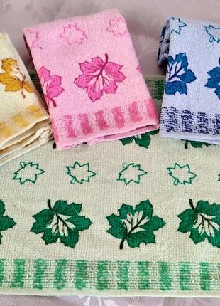 Набор кухонных махровых полотенец - 4 шт.