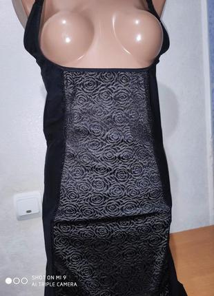Корректирующее моделирующее утягивающее платье под бюстгальтер