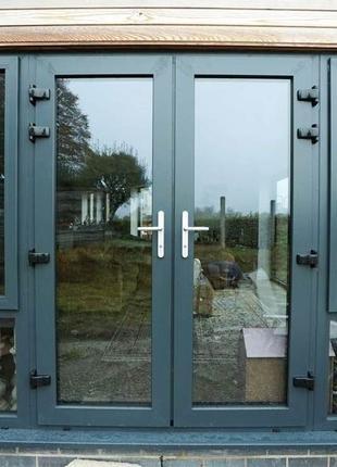 Металопластикові вхідні двері