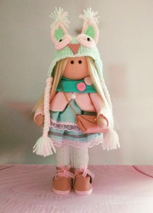 Интерьерная кукла Тильда