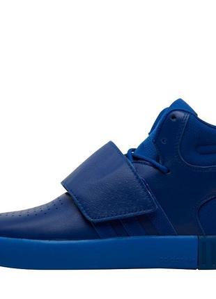 Бомбезные высокие унисекс кожаные кроссовки adidas originals t...