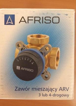 """AFRISO комплект: 3-ход. клапан ARV384 Rp 1"""" и привод ARM323"""