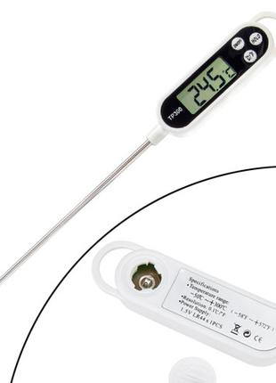 "Термометр электронный кухонный с щупом 1.4"" ЖК -50~300°C TP300"