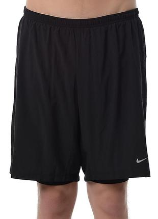 Комфортные спортивные шорты 9 phenom 2-in-1 short