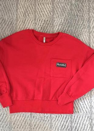 Свитшот світшот свитер кофта stradivarius