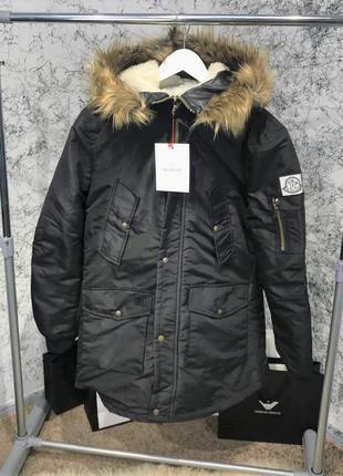 Зимняя Куртка Moncler Rethel Black