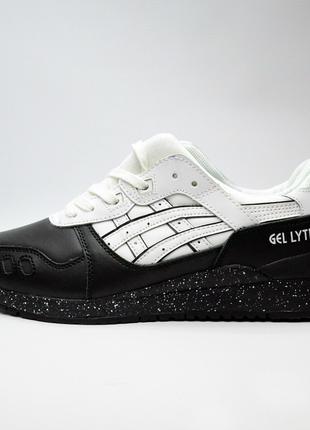 Asics Gel Lyte III Black Leather