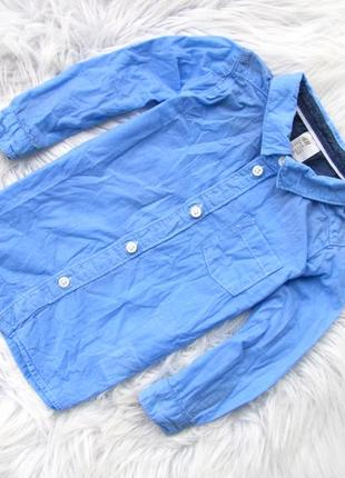 Качественная и стильная рубашка h&m