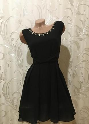 Очень классное черное платье