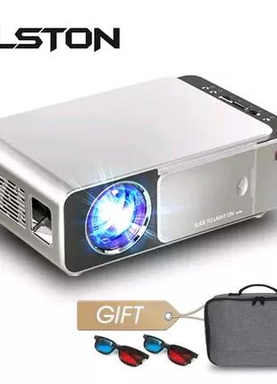 Alston t6 full hd led проектор 4k 3500 люмен hdmi usb 1080p