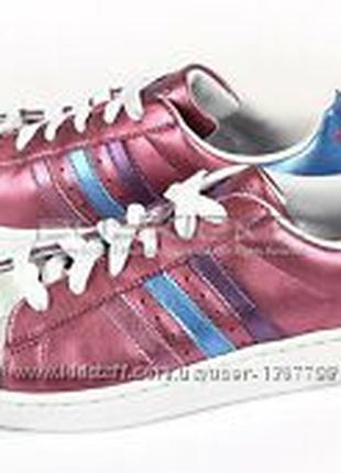 Кроссовки Adidas Superstar натур кожа оригинал 38 размер