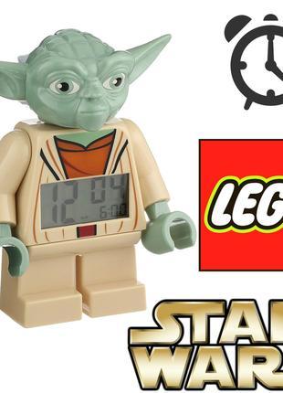 Будильник Лего Зоряні Війни Йода Lego Star Wars Yoda