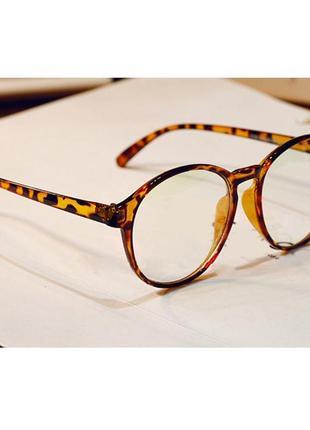 4-62 вінтажні окуляри для іміджу з прозорою лінзою очки для им...