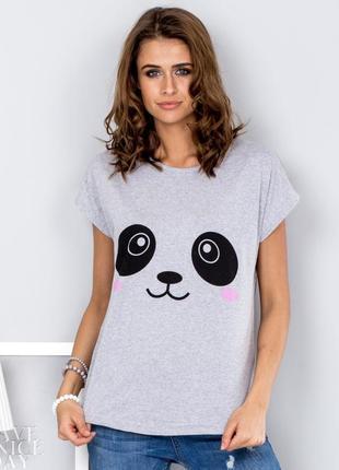 17-31 женская футболка с пандой