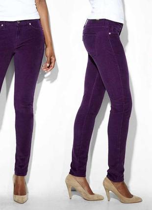 Женские вельветовые джинсы levis corduroy leggings