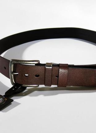 Шкіряний ремінь gem-dandy genuine leather кожаный ремень
