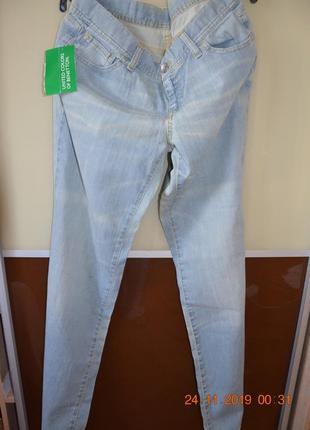 Новые джинсы united colors of benneton