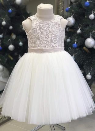 Нарядные платья для девочек 2-7 лет