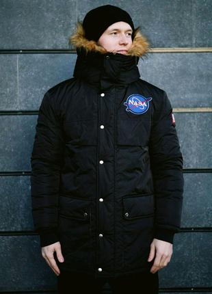 😡Зимняя куртка NASA