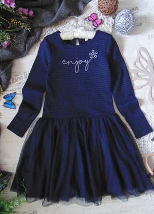 12лет.шикарное нарядное платье okaidi.