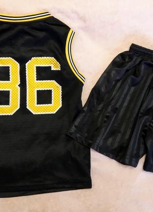 Спортивная форма Rebel костюм р 140 майка и шорты футбол волейбол