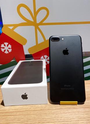 Apple IPhone 7+ Plus 128 gb Matte Black + чехол и новое стекло
