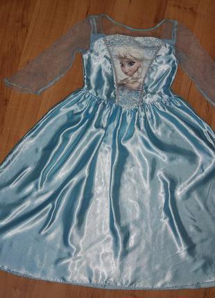 Карнавальный костюм платье принцессы эльза холодное сердце