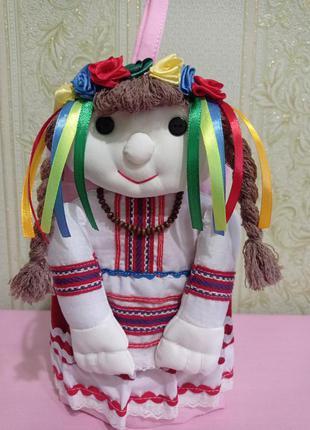 Сувенир украинская кукла прихватка, подарок.