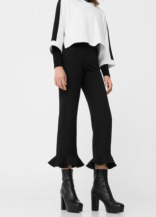 Модные кроп леггинсы брюки бриджи от prettylittlething