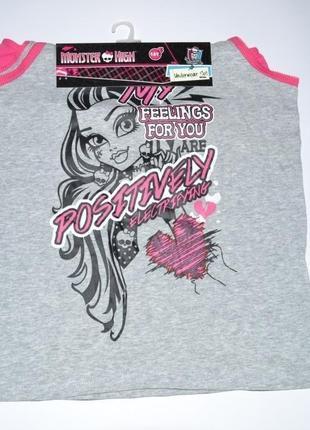 Белье Monster High от Mattel, набор трусы и майка 8, 10, 14 лет