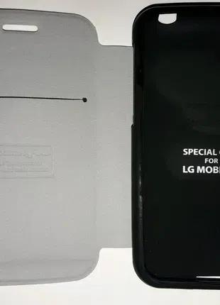 Чехол с флипом для Lg optimus L4