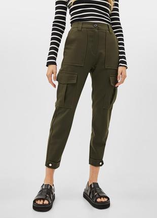 Крутые штаны брюки карго р.6 (xs)