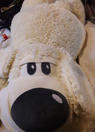 Мягкая игрушка собака-подушка