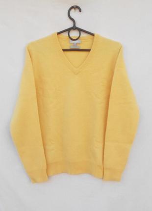 Кашемировый свитер джемпер с длинным рукавом
